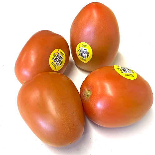 Organic roma tomatoes 1 lb