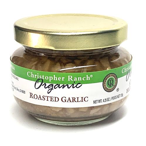 Christopher Ranch Organic roasted garlic 4.25z (#83693)