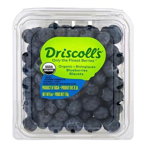 Organic blueberries 6z