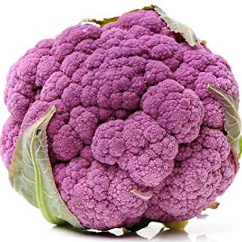 Purple Cauliflower 1ea (about 1.5lbs)