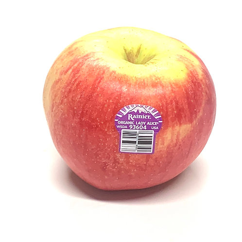 Organic Lady Alice Apples **1ea USA