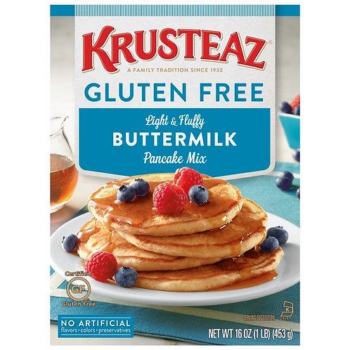 Krusteaz Gluten Free Light & Fluffy Buttermilk Pancake Mix 16 oz. Box
