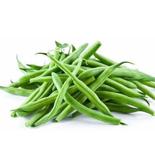 Organic green beans 1 lb. (Locally  grown)
