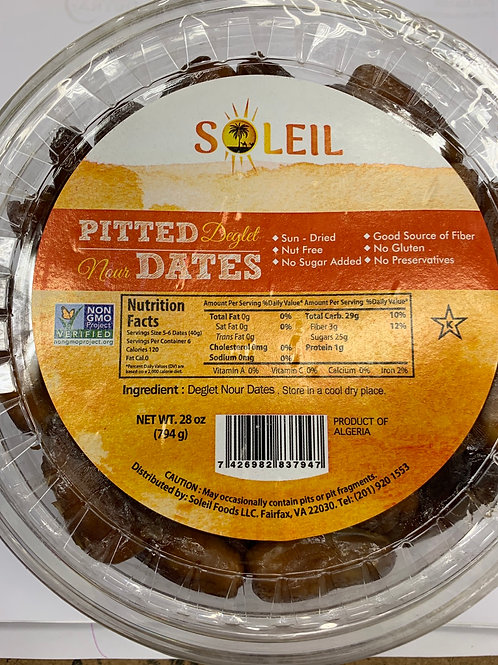Pitted dates 28z, USA