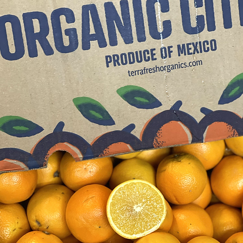 Organic juice oranges 10 pcs