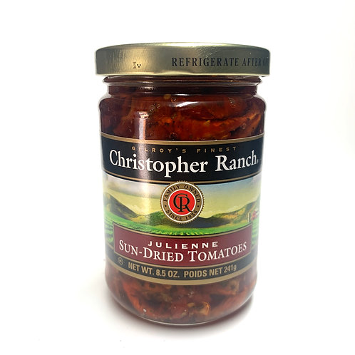 Christopher Ranch sun dried tomatoes, julienne 8.5z