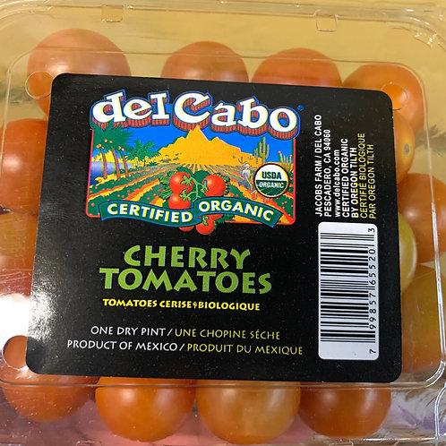Organic Cherry Tomatoes 1pt. (Mx)