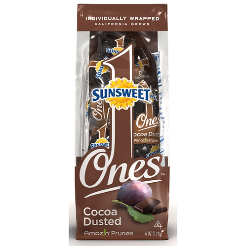 Sunsweet Amazin Cocoa Dusted Prunes 6.0 oz