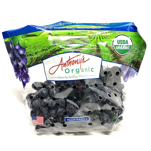 Organic Red Table Grapes (1.8-2lb)