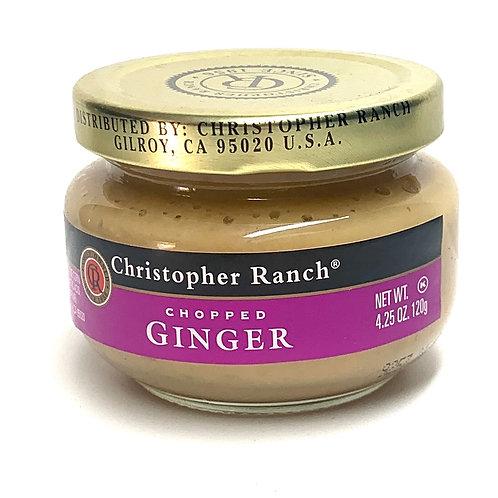 Christoper Ranch chopped ginger 4.25z