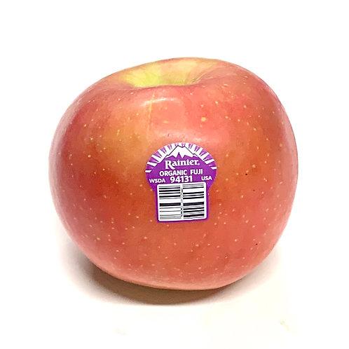 Organic Fuji apples **1 ea**