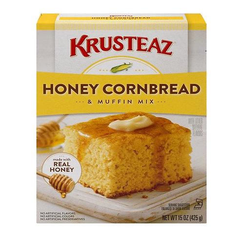Krusteaz Honey Cornbread and Muffin Mix, 15 oz