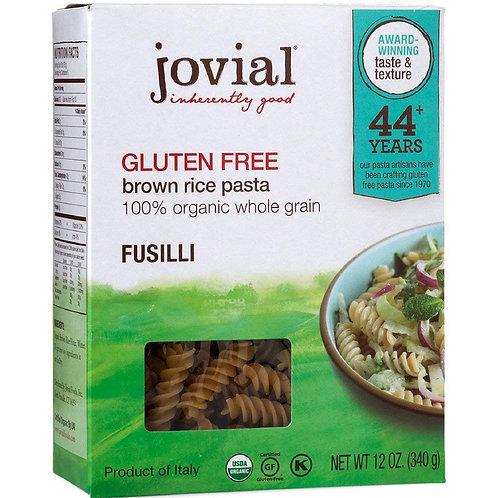 Jovial Organic & Gluten Free Fusilli Pasta, 12 oz