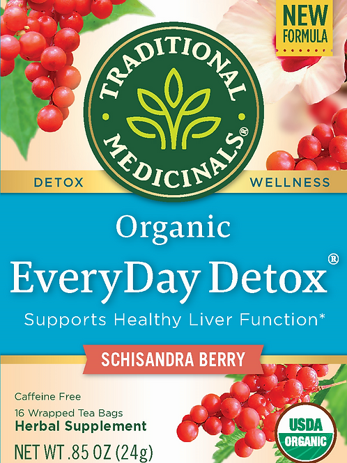 Traditional Medicinals EveryDay Detox Detox Tea Made with organic ingredients, 1