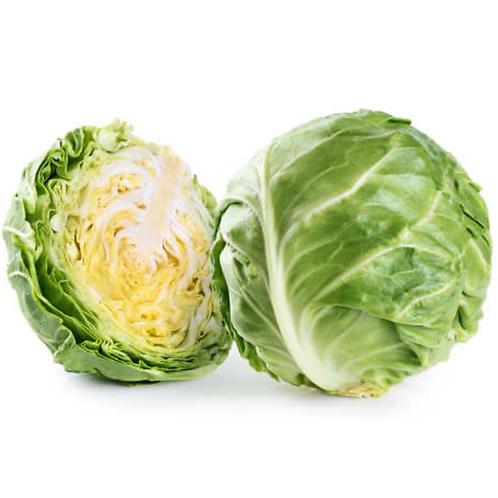 Organic Green Cabbage, 1 ea