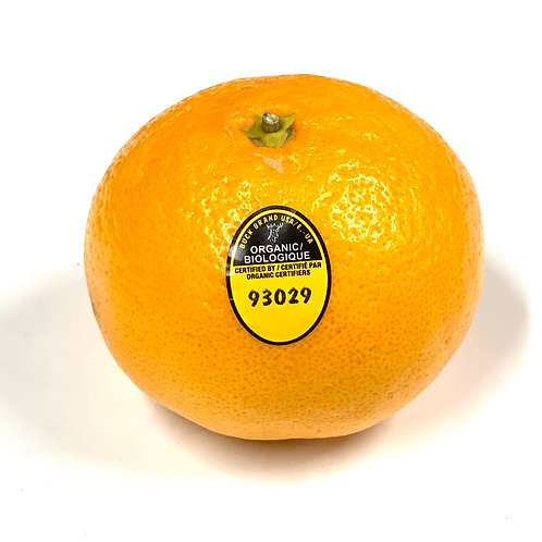 Organic mandarins *1ea. Appx 6z