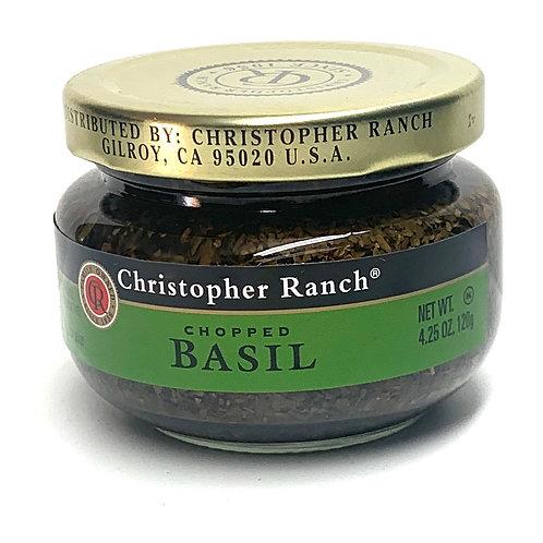 Christopher Ranch chopped basil 4.25z (#83654)