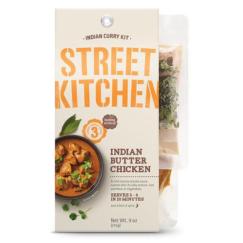 Street Kitchen Indian Butter Chicken Indian Scratch Kit, 9 oz