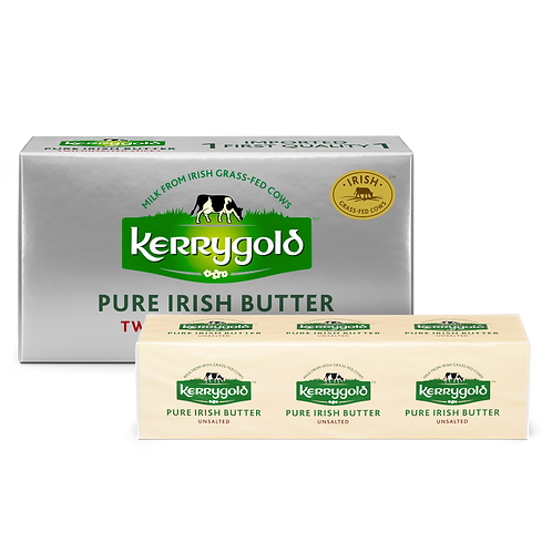 Kerrygold Unsalted Pure Irish Butter, 8 Oz., 2 Count