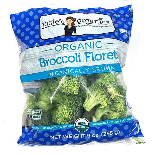 Organic Broccoli florett 9z  bag