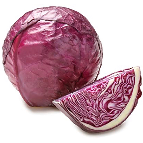Organic Red Cabbage, 1 ea