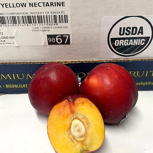 Organic nectarine 1lb   (Locally grown)