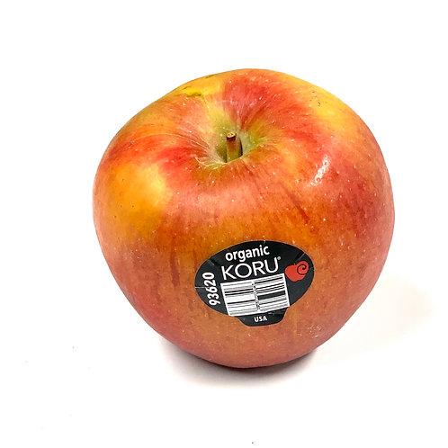 Organic Koru apples *1ea  Appx 8z