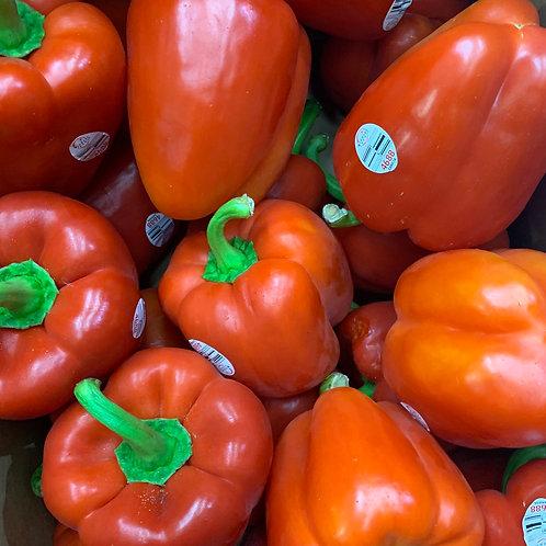 Red Bell Pepper, 2 ea.