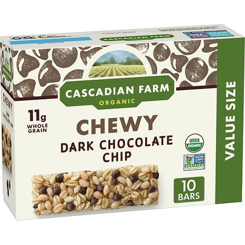 Cascadian Farm Organic Chocolate Chip Granola Bars 10 ct