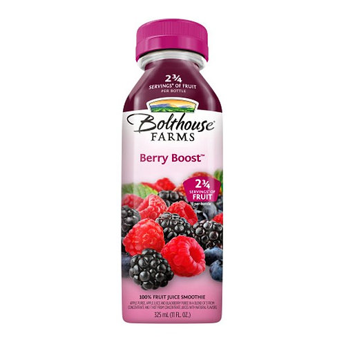 Bolthouse Farms Fruit Juice Smoothie, Berry Boost, 11 oz