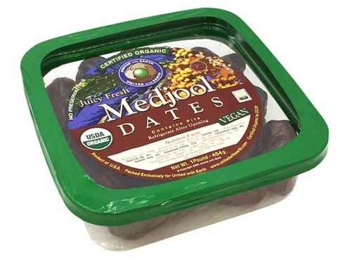 Organic medjool dates 16z