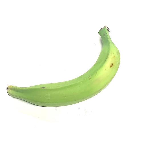 Plantain banana  ** 1 ea (approx 1/2 lb)