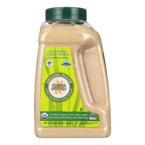 Florida Crystal's Organic Cane Sugar, 3 Lb
