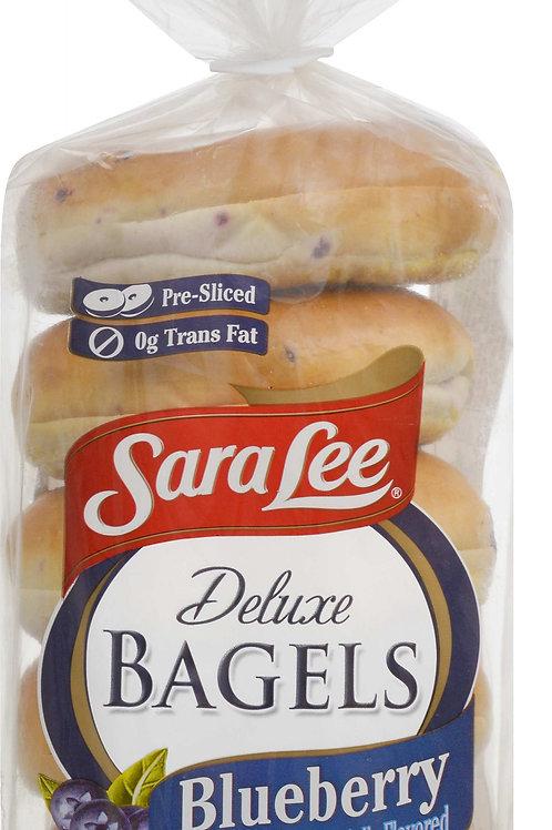 Sara Lee Blueberry Bagel, 6 count, 20 oz