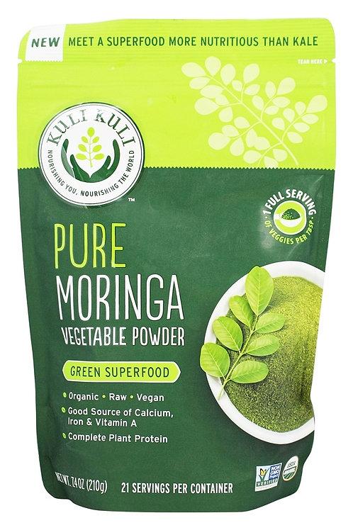 Kuli Kuli Organic Pure Moringa Vegetable Powder, 7.4 oz
