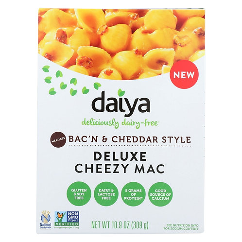 Daiya Foods - Cheezy Mac - Bacon And Cheddar Style - 10.9 Oz.