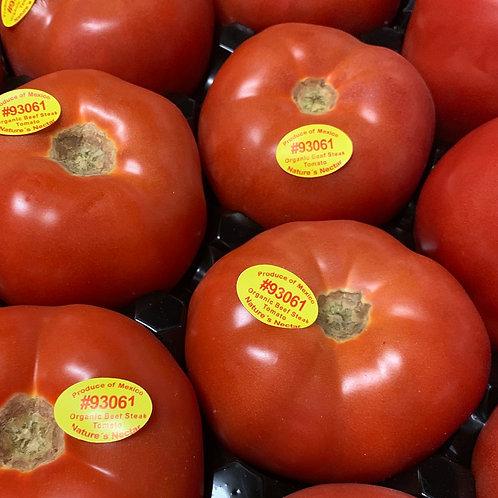 Organic Hot House Tomatoes 1 lb.