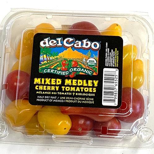 Organic mixed medley tomatoes 1 pint