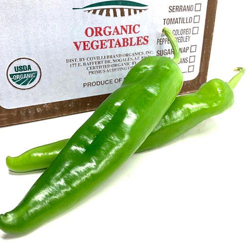 Organic Anaheim Pepper **1ea