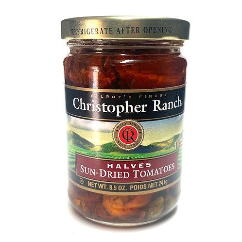 Christopher Ranch sun dried tomato halves in oil 8.5z (#83376)