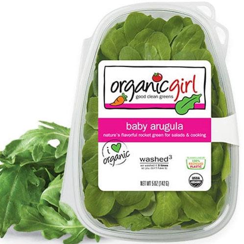 Organic Baby arugula 5z