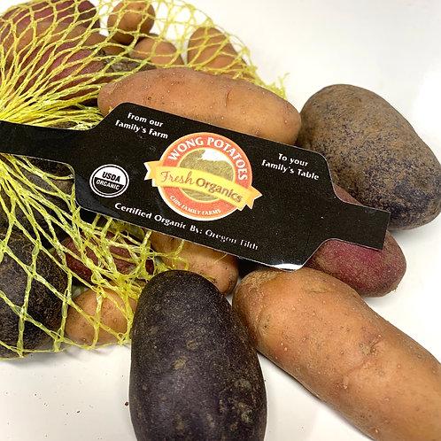 Organic Fingerling Potatoes 1.5lbs -Locally grown