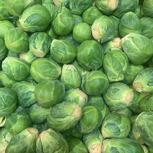 Brussel sprouts 1/2 lbs *