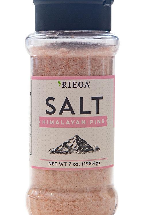 Riega Himalayan Pink Salt Shaker, 7oz.