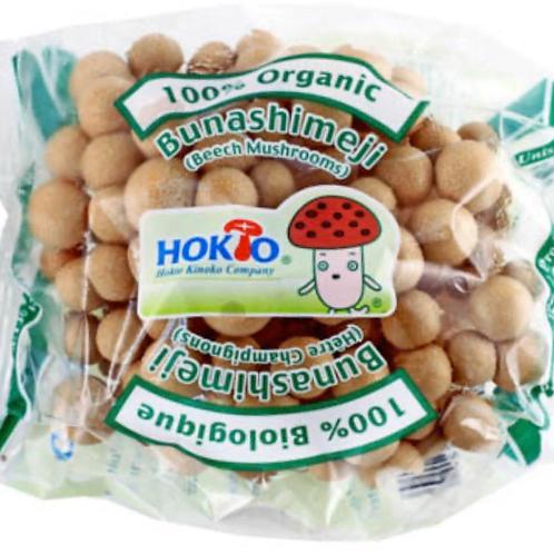 Organic brown shimeji mushrooms 3.5z