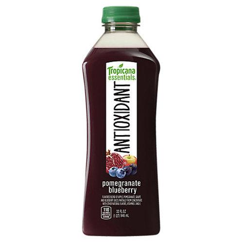 Tropicana essential antioxidant pomegranate blueberry 32z