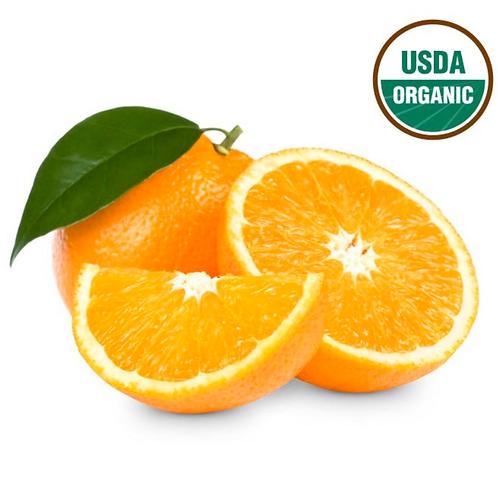 Organic oranges 4pc (appx 2lbs)