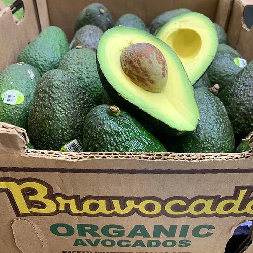 Organic avocado, large 1pc