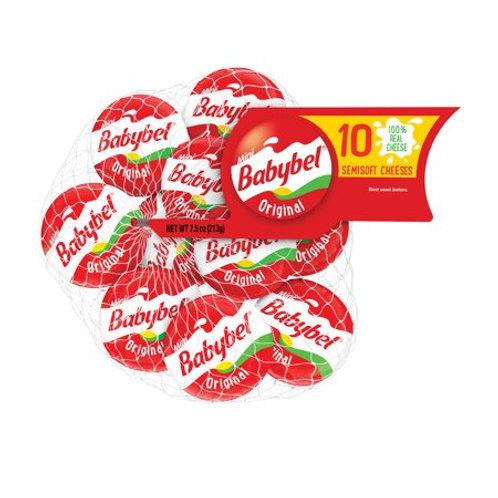Babybel Semisoft Cheeses Original, 7.5 OZ 10 count