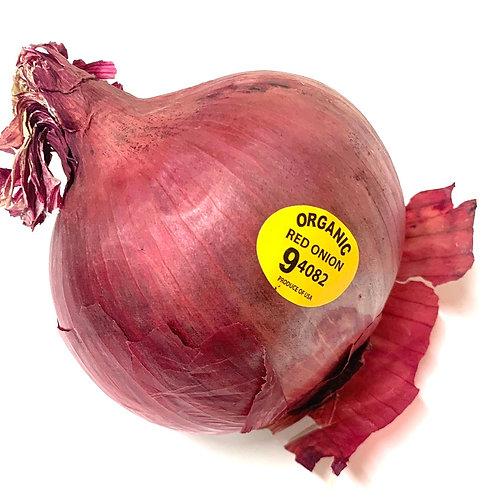 Organic red onion ** 1ea**